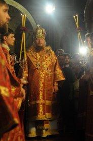 Фоторепортаж из Свято-Троицкого Ионинского монастыря о праздновании Светлого праздника Пасхи 66