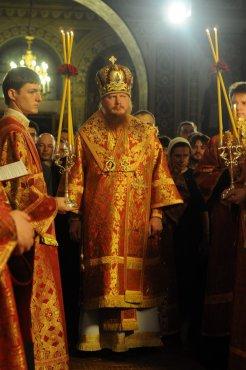 Фоторепортаж из Свято-Троицкого Ионинского монастыря о праздновании Светлого праздника Пасхи 68