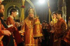 Фоторепортаж из Свято-Троицкого Ионинского монастыря о праздновании Светлого праздника Пасхи 73