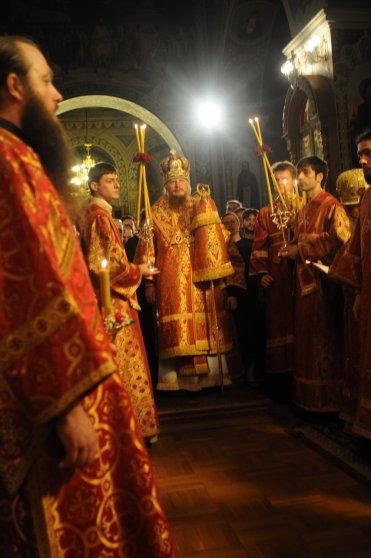 Фоторепортаж из Свято-Троицкого Ионинского монастыря о праздновании Светлого праздника Пасхи 78