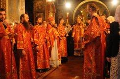 Фоторепортаж из Свято-Троицкого Ионинского монастыря о праздновании Светлого праздника Пасхи 111