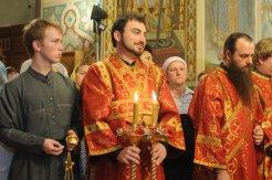 Фоторепортаж из Свято-Троицкого Ионинского монастыря о праздновании Светлого праздника Пасхи 119