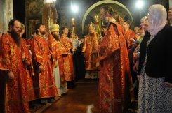 Фоторепортаж из Свято-Троицкого Ионинского монастыря о праздновании Светлого праздника Пасхи 124