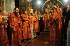 Фоторепортаж из Свято-Троицкого Ионинского монастыря о праздновании Светлого праздника Пасхи 125