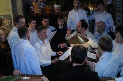Фоторепортаж из Свято-Троицкого Ионинского монастыря о праздновании Светлого праздника Пасхи 131