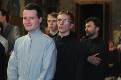Фоторепортаж из Свято-Троицкого Ионинского монастыря о праздновании Светлого праздника Пасхи 136