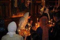 Фоторепортаж из Свято-Троицкого Ионинского монастыря о праздновании Светлого праздника Пасхи 152