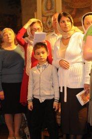 Фоторепортаж из Свято-Троицкого Ионинского монастыря о праздновании Светлого праздника Пасхи 164