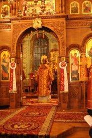 Фоторепортаж из Свято-Троицкого Ионинского монастыря о праздновании Светлого праздника Пасхи 167