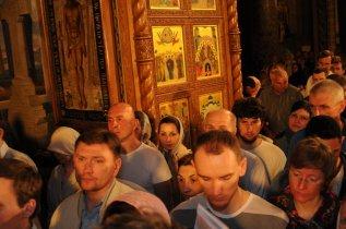 Фоторепортаж из Свято-Троицкого Ионинского монастыря о праздновании Светлого праздника Пасхи 175