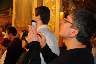 Фоторепортаж из Свято-Троицкого Ионинского монастыря о праздновании Светлого праздника Пасхи 181