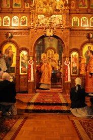 Фоторепортаж из Свято-Троицкого Ионинского монастыря о праздновании Светлого праздника Пасхи 188