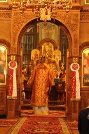 Фоторепортаж из Свято-Троицкого Ионинского монастыря о праздновании Светлого праздника Пасхи 189