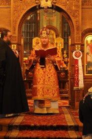 Фоторепортаж из Свято-Троицкого Ионинского монастыря о праздновании Светлого праздника Пасхи 193