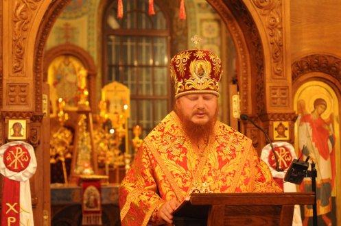 Фоторепортаж из Свято-Троицкого Ионинского монастыря о праздновании Светлого праздника Пасхи 197