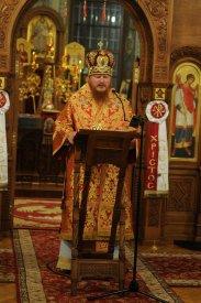 Фоторепортаж из Свято-Троицкого Ионинского монастыря о праздновании Светлого праздника Пасхи 208