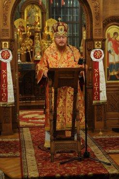 Фоторепортаж из Свято-Троицкого Ионинского монастыря о праздновании Светлого праздника Пасхи 216