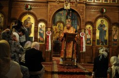 Фоторепортаж из Свято-Троицкого Ионинского монастыря о праздновании Светлого праздника Пасхи 235