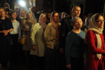 Фоторепортаж из Свято-Троицкого Ионинского монастыря о праздновании Светлого праздника Пасхи 239
