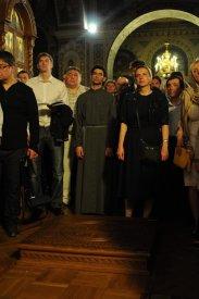 Фоторепортаж из Свято-Троицкого Ионинского монастыря о праздновании Светлого праздника Пасхи 264