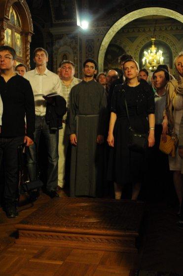 Фоторепортаж из Свято-Троицкого Ионинского монастыря о праздновании Светлого праздника Пасхи 265