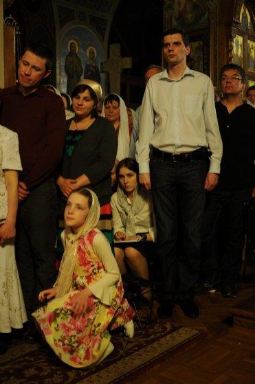 Фоторепортаж из Свято-Троицкого Ионинского монастыря о праздновании Светлого праздника Пасхи 268