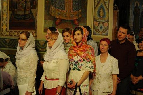 Фоторепортаж из Свято-Троицкого Ионинского монастыря о праздновании Светлого праздника Пасхи 269