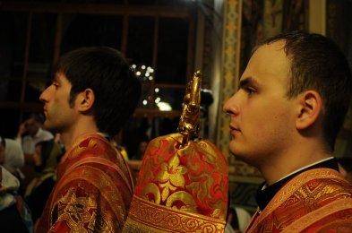 Фоторепортаж из Свято-Троицкого Ионинского монастыря о праздновании Светлого праздника Пасхи 272