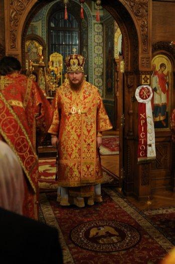 Фоторепортаж из Свято-Троицкого Ионинского монастыря о праздновании Светлого праздника Пасхи 274