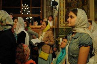 Фоторепортаж из Свято-Троицкого Ионинского монастыря о праздновании Светлого праздника Пасхи 276