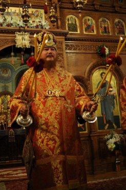 Фоторепортаж из Свято-Троицкого Ионинского монастыря о праздновании Светлого праздника Пасхи 297