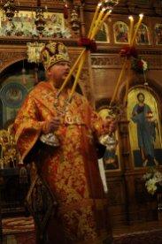 Фоторепортаж из Свято-Троицкого Ионинского монастыря о праздновании Светлого праздника Пасхи 299