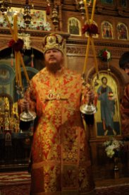 Фоторепортаж из Свято-Троицкого Ионинского монастыря о праздновании Светлого праздника Пасхи 305
