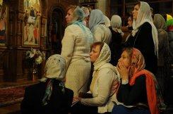 Фоторепортаж из Свято-Троицкого Ионинского монастыря о праздновании Светлого праздника Пасхи 313