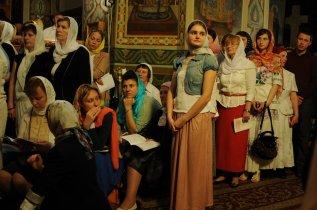 Фоторепортаж из Свято-Троицкого Ионинского монастыря о праздновании Светлого праздника Пасхи 319