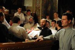 Фоторепортаж из Свято-Троицкого Ионинского монастыря о праздновании Светлого праздника Пасхи 326