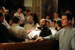 Фоторепортаж из Свято-Троицкого Ионинского монастыря о праздновании Светлого праздника Пасхи 327