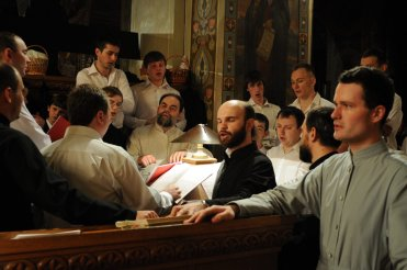 Фоторепортаж из Свято-Троицкого Ионинского монастыря о праздновании Светлого праздника Пасхи 330