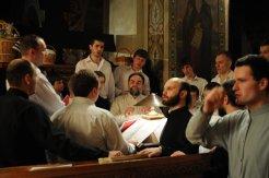 Фоторепортаж из Свято-Троицкого Ионинского монастыря о праздновании Светлого праздника Пасхи 333