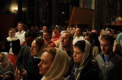 Фоторепортаж из Свято-Троицкого Ионинского монастыря о праздновании Светлого праздника Пасхи 337