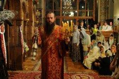 Фоторепортаж из Свято-Троицкого Ионинского монастыря о праздновании Светлого праздника Пасхи 347