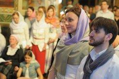 Фоторепортаж из Свято-Троицкого Ионинского монастыря о праздновании Светлого праздника Пасхи 367