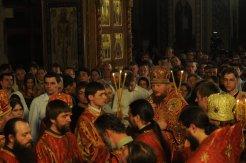 Фоторепортаж из Свято-Троицкого Ионинского монастыря о праздновании Светлого праздника Пасхи 380