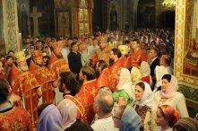 Фоторепортаж из Свято-Троицкого Ионинского монастыря о праздновании Светлого праздника Пасхи 385