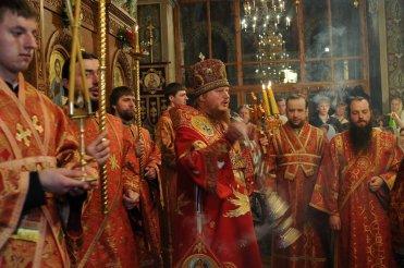Фоторепортаж из Свято-Троицкого Ионинского монастыря о праздновании Светлого праздника Пасхи 401