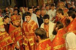 Фоторепортаж из Свято-Троицкого Ионинского монастыря о праздновании Светлого праздника Пасхи 419