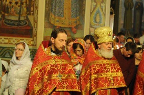 Фоторепортаж из Свято-Троицкого Ионинского монастыря о праздновании Светлого праздника Пасхи 426