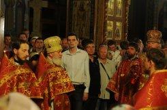 Фоторепортаж из Свято-Троицкого Ионинского монастыря о праздновании Светлого праздника Пасхи 430