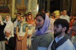 Фоторепортаж из Свято-Троицкого Ионинского монастыря о праздновании Светлого праздника Пасхи 436