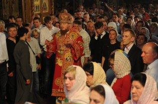 Фоторепортаж из Свято-Троицкого Ионинского монастыря о праздновании Светлого праздника Пасхи 440